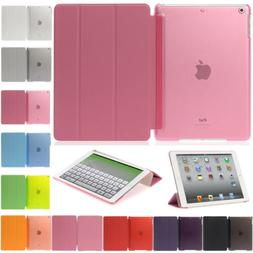 For iPad Mini Air Pro Case PU Leather Smart Stand Cover Slim