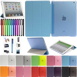 For iPad Mini Air Pro Case PU Leather Smart Cover Stand Slim
