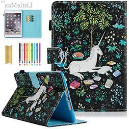 iPad Mini 2 3 Case, LittleMax Ultra Slim Flip Stand  Case wi