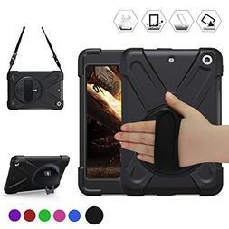 BREACN iPad Mini Case  Full Body  -360 Degrees Swivel Stand