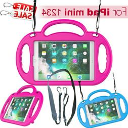 For iPad Mini Kids Silicon Safe Handle Tablet Case Cover Ski