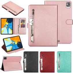 "For iPad Pro 10.5 11"" 12.9""/Mini Zipper Leather Magnetic Wal"