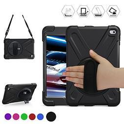 iPad Mini4 Shockpoof Case,BRAECN Three Layer Drop Protection