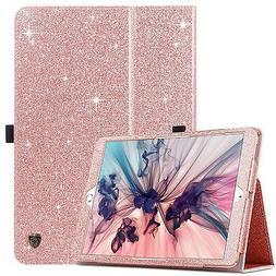 iPad Pro 10.5 Case 2017  BENTOBEN Glitter Sparkle Folio Fold