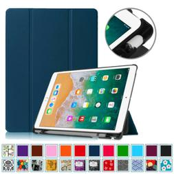 For iPad Pro 10.5 Case with Built-in Apple Pencil Holder Sma