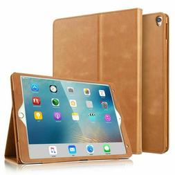 Ipad Pro 10.5 Case Boriyuan Vintage Genuine Leather Case Sli