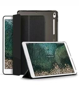 ESR Ipad Pro 10.5 Case, tri-fold, black, microfiber lining,