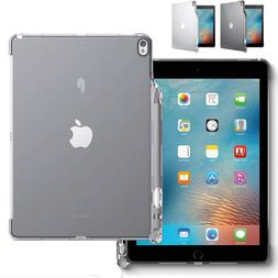 "For iPad Pro 10.5 | ""Soft Clear TPU Back"" Case Cover w/Apple"