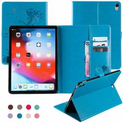 For iPad Pro 11'' 12.9'' 3rd Gen 2018 Shockproof Leather Sma