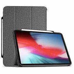 ProCase iPad Pro 11 Case 2018 with Apple Pencil Holder [Supp