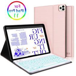 For iPad Pro 11 inch Keyboard Case Backlit Keys Wireless Key
