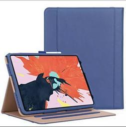 ProCase iPad Pro 12.9 Stand Folio Case Cover Navy Blue