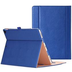 "ProCase iPad Pro 12.9"" Vintage Folio Case/Cover/Stand Navy"