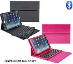 iPad Pro 9.7 / Air 1 2 Bluetooth Keyboard Case Wireless Deta