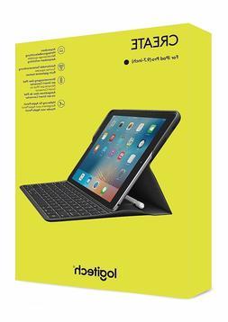 Logitech IPAD pro 9.7 Case Keyboard Create Backlit Wireless