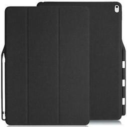IPad Pro Case 12.9 2017 KHOMO Dual Case with Pencil Holder f