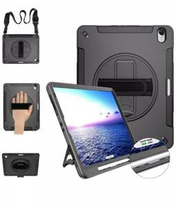 ipad pro case 12.9 2018 With Strap And Pencil Case