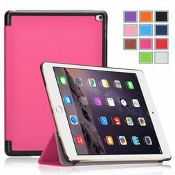 Exact iPad Pro12.9  Leather Case  Auto Wake/Sleep Hot Pink