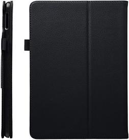 AmazonBasics iPad PU Leather Case Auto Wake/Sleep Cover, Bla