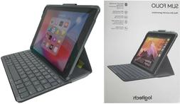 Logitech iPad Slim Folio Case Bluetooth Wireless Keyboard iP