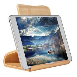 SAMDI Wooden Ipad stand, tablet stand Multi-Angle, with stab