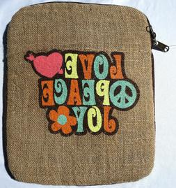 Jute Anokhi Bags Electronic Tablet iPad Case EcoFriendly Lov