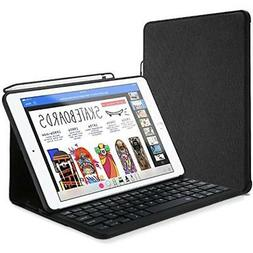 Keyboard Case For IPad 9.7 With Built-in Apple Pencil Holder