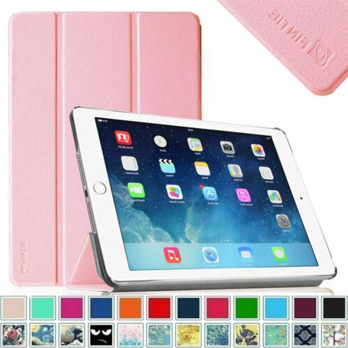 For 2014 iPad Air 2  A1566 Auto Wake/Sleep Stand Cover SlimS