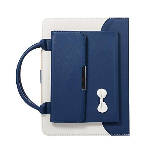 Sammid New 2018 11 Inch Case, Cute Business Case Sleep Wake Up Full Protective with Feature New iPad Pro 11 - Blue