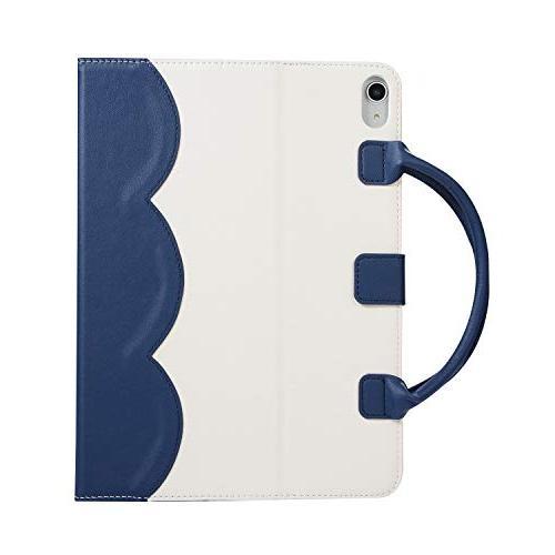 Sammid New 11 Cute Business Handbag Case Auto Sleep Wake Full Protective with Handle Stand iPad Pro 11 - Blue