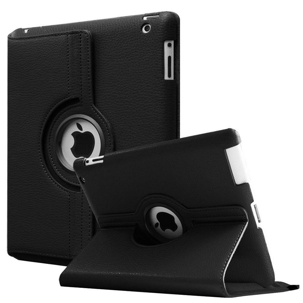 360° Rotating Smart Case Leather Cover For Apple iPad 9.7""