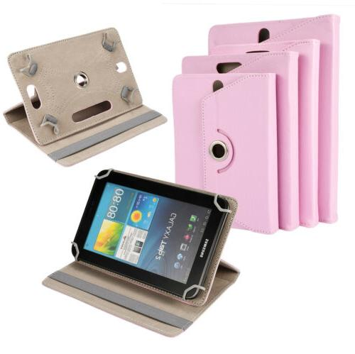 """360° Rotate Leather Cover For Apple iPad iPod 9"""""""