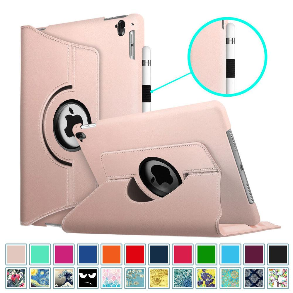 360 rotating case cover for apple ipad