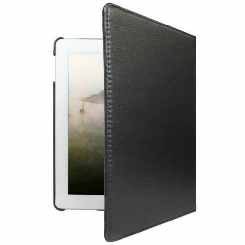 360 Rotating Leather Case Cover iPad 3 2 Pro