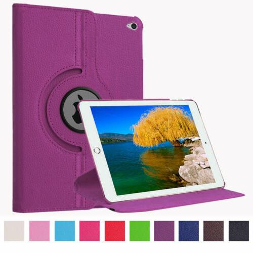 360° Leather Smart Case Cover For 2 3 4 Air Pro