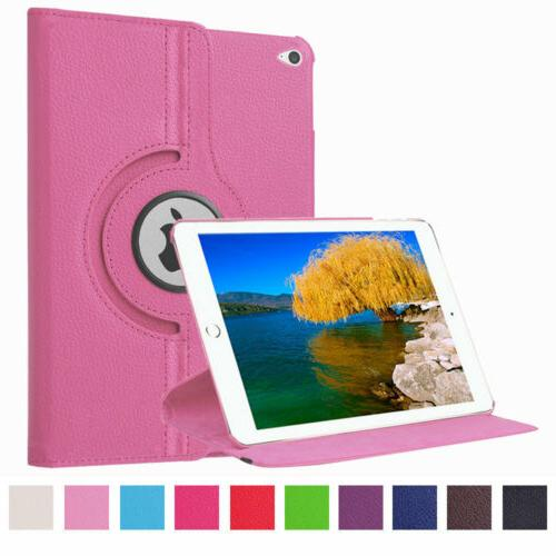 360° Rotating Leather Smart Cover Stand For iPad 2 3 4 Pro