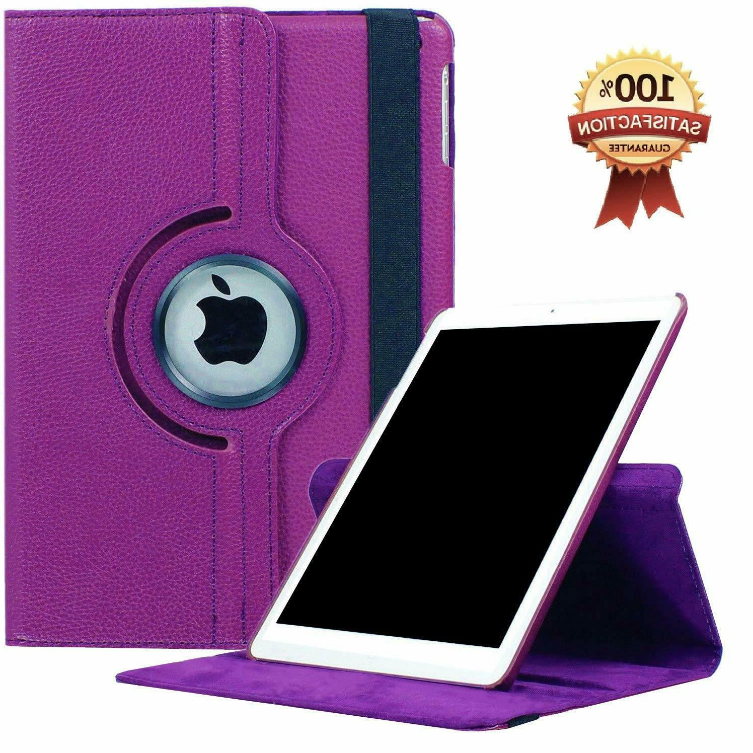 360 Leather Case For iPad Shockproof