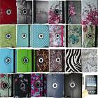 360 rotating magnetic leather case smart cover