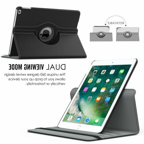360 Rotating Folio Case Stand For iPad 2 Pro