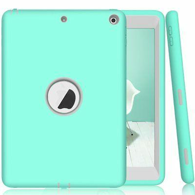 5th Generation iPad 9.7 2017 Case Protector Shield Stand Fit