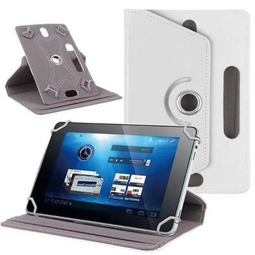 360° Rotate Leather Case Cover For Apple iPad iPod Tablet 7