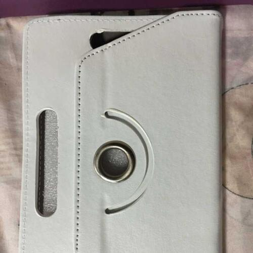"""360° Rotate Leather Cover iPad iPod Tablet 9"""" 10.1"""""""