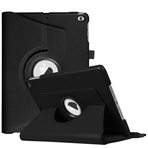 Fintie 2018 2017 Air - 360 Degree Rotating Stand Cover Wake iPad 9.7