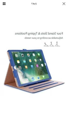For 12.9 Folio Case Blue