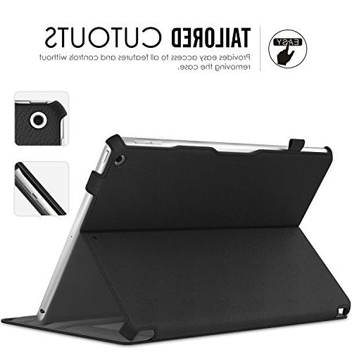 MoKo Case Fit iPad 9.7 5th/6th Generation Case Auto Compatible with 9.7
