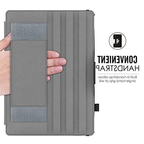 MoKo Case 9.7 Slim-Fit Multi-Angle Case Auto Wake/Sleep Compatible Apple iPad 9.7 Inch