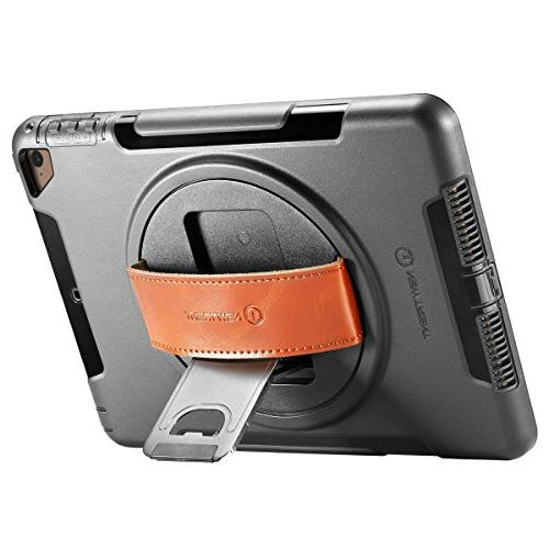 NewTrent iPad Heavy Rugged Protective Built-in & Dual Apple 9.7 2017/2018
