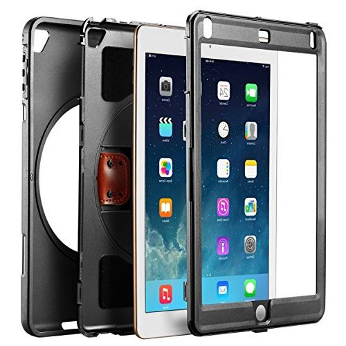 NewTrent Heavy Rugged Protective with Dual Layer Apple iPad 9.7 2017/2018