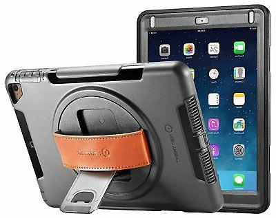 NewTrent iPad Case 2018/2017, Heavy Duty Gladius Full-body R