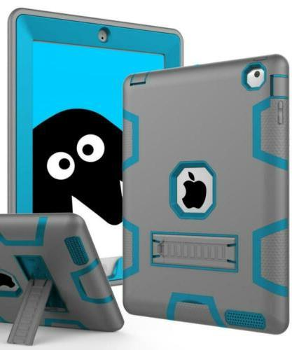 Topsky Case for iPad 2/3/4 Bundle with Stylus Pen, Screen Pr